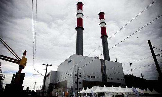 Verbund-Kraftwerk in Mellach