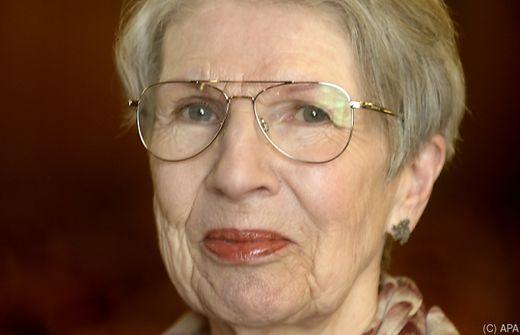 Schriftstellerin Barbara Frischmuth