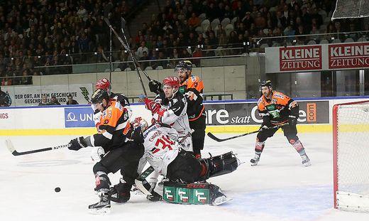 ICE HOCKEY - EBEL, 99ers vs Innsbruck