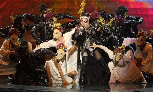 "Madonna sang neben ihrem Hit ""Like A Prayer"" den neuen Song ""Future"""