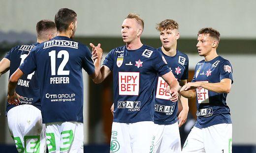 SOCCER - 2.Liga, Liefering vs GAK