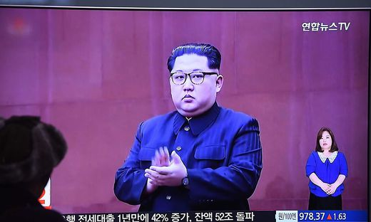 Unzufrieden: Kim Jong-Un