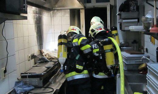 Feuerwehr Graz Brand