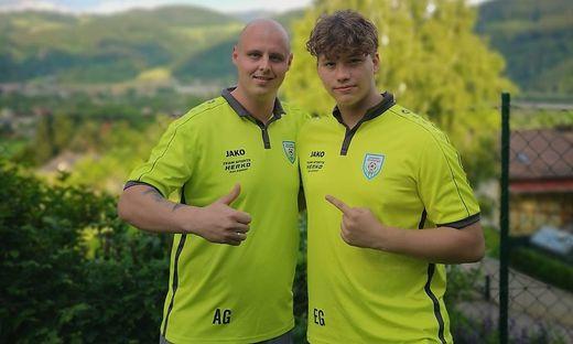 Andreas (links) und Emanuel (rechts) Gutensohn