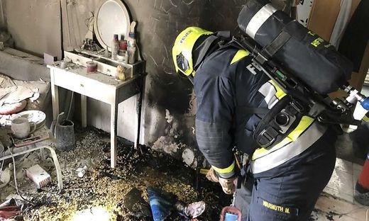 Die Feuerwehr konnte die Flammen rasch löschen