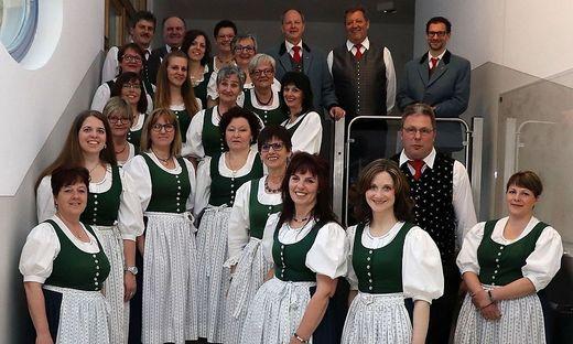 Der Volksliedchor Himmelberg freut sich auf viele Besucher