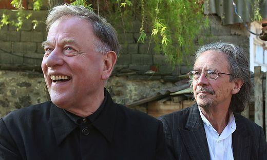 Claus Peymann und Peter Handke