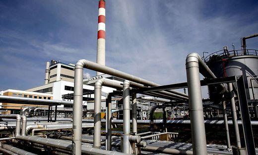 Die Raffinerie in Schwechat