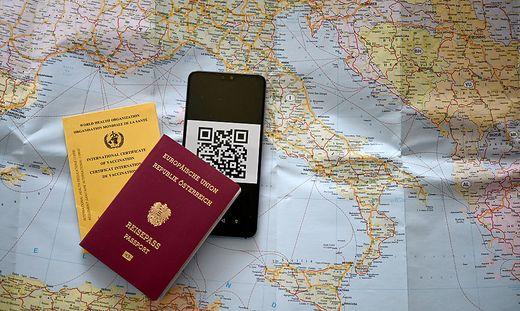 ++ THEMENBILD ++ CORONA: CORONA-IMPFUNG/?EU/?REISEN/?GRUeNER PASS/TOURISMUS/?