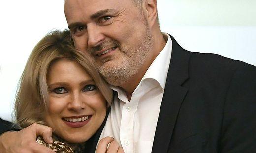 Hans Peter Doskozil mit seiner Lebensgefährtin Julia Jurtschak