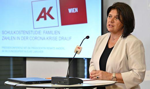 Für AK-Präsidentin Renate Anderl ist das Konzept des Bildungsministerium für das kommende Schuljahr nicht ausreichend.