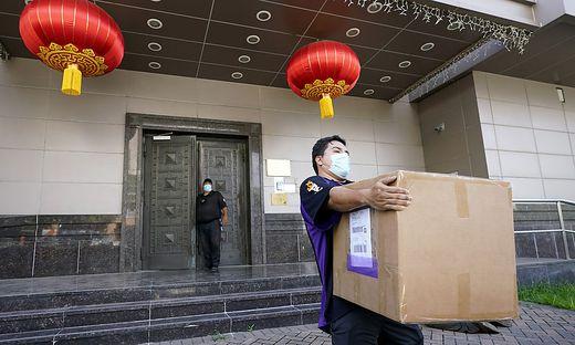 FedEx Chinese Consulate