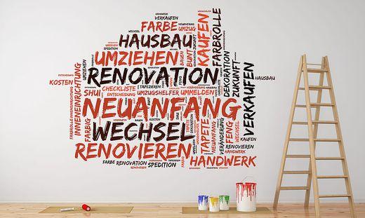 Renovierung und Umzug im Haus