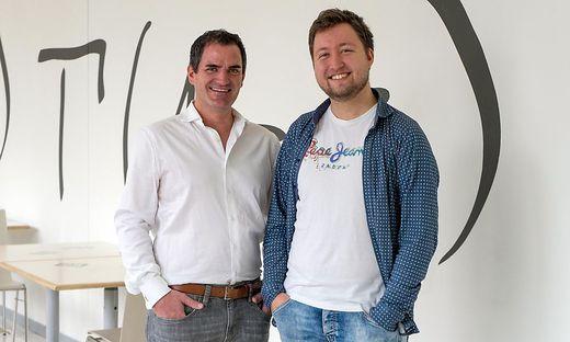 Christian Niemetz (links) und Benjamin Hackl