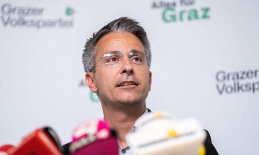 Kurt Hohensinner übernahm nach der Wahlschlappe der ÖVP in Graz die Führung der Partei von Siegfried Nagl
