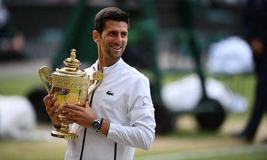 Novak Djokovic triumphierte in London gegen Roger Federer
