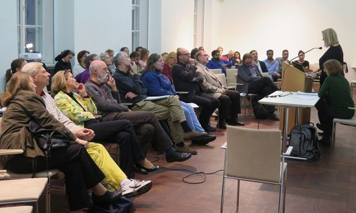 Treffen der 20 Organisationen im Kulturzentrum der Minoriten in Graz