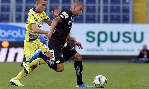 Kiril Despodow (rechts) traf zum 1:0 und 2:0