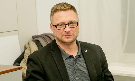Christian Eile, Obmann des Armutzsnetzwerks Kärnten und Bereichsleiter Menschen in Not, Caritas Kärnten