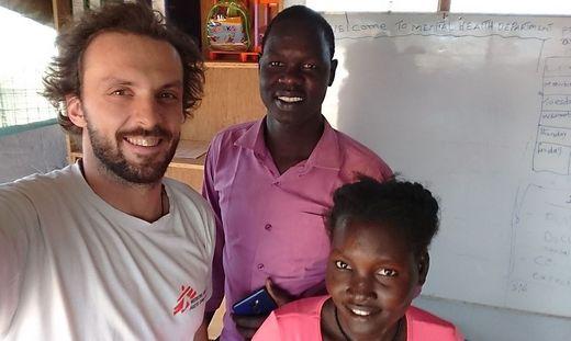 """Christoph Friedl war von Oktober 2018 bis April 2019 für """"Ärzte ohne Grenzen"""" im Südsudan im Einsatz"""
