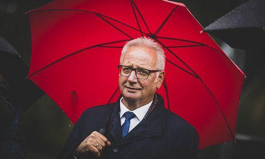 """Landtagspräsident Reinhart Rohr (SPÖ) hält nichts von """"Impf-Vordränglern"""", auch nicht in der eigenen Partei"""