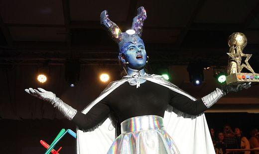 """Musical des Borg Feldbach mit der Außerirdischen """"G"""""""