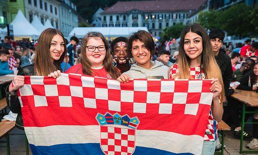 Public Viewing Kroatien