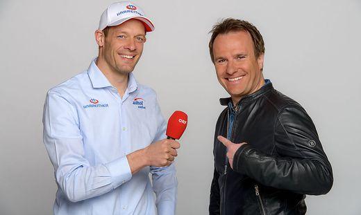 Benzinbr�der Ernst Hausleitner und Alex Wurz gehen in die zehnte Formel-1-Saison