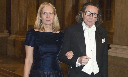 Zentrale Figuren in der Nobelpreisaffäre: Katarina Frostenson mit Jean Claude Arnault