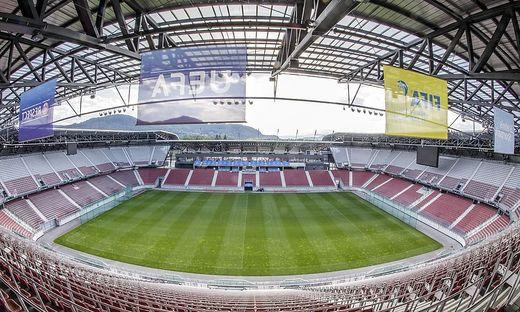 ÖFB-CUP  Was auf einer Stadiontour in Klagenfurt passiert ist ... d6c73a2016