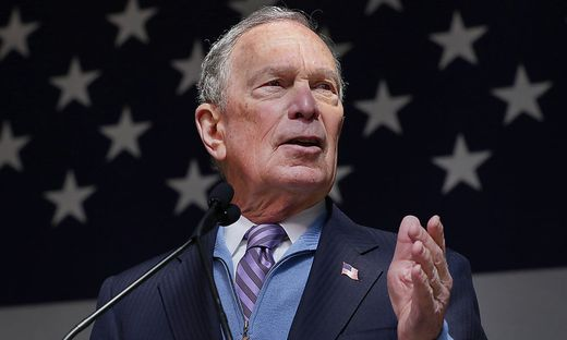 Steigt am Super-Tuesday in den Ring: Mike Bloomberg