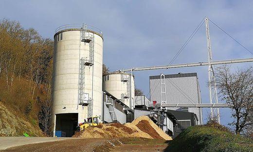 Das Heizwerk Liebenfels ist seit 2018 in Betrieb und beschäftigt jetzt die Ermittler