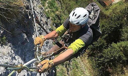 Kletterausrüstung Graz : Griffen : klettersteig und schlossbergschänke ab 1. mai geöffnet