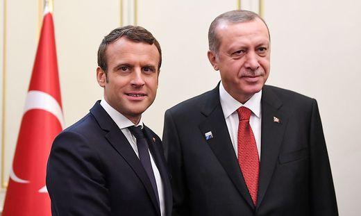 Macron will Beziehungen mit der Türkei stärken