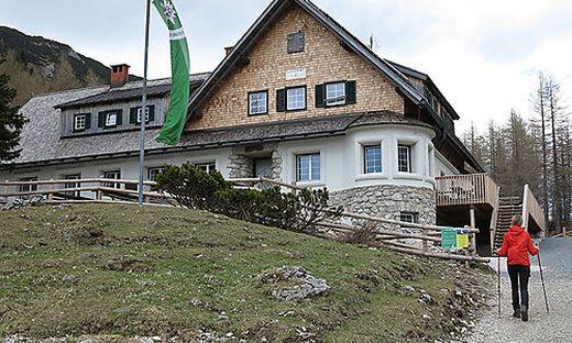 Die Klagenfurter Hütte bleibt über Ostern geschlossen.