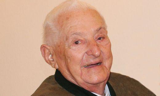 Franz Feldbacher, Altbürgermeister von Tillmitsch, verstarb im 90. Lebensjahr