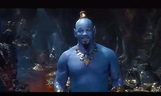 Will Smith als Geist aus der Wunderlampe