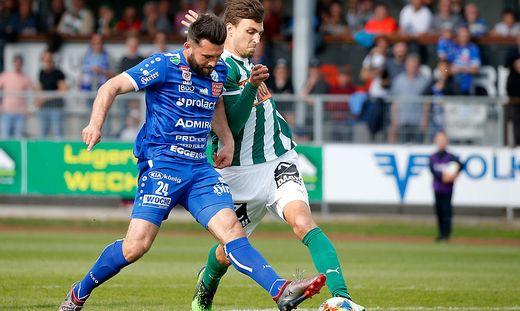 SOCCER - BL, Hartberg vs Mattersburg