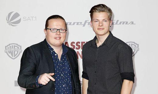 Angelo Kelly und sein Sohn Gabriel