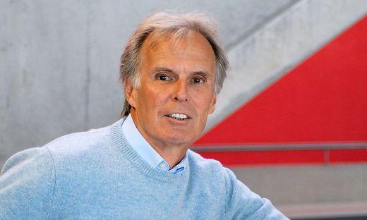 Günther Sigott vom Institut für Anglistik und Amerikanistik