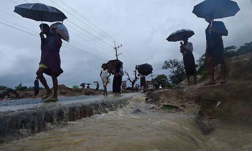 FILES-BANGLADESH-MYANMAR-UNREST-REFUGEE-ROHINGYA