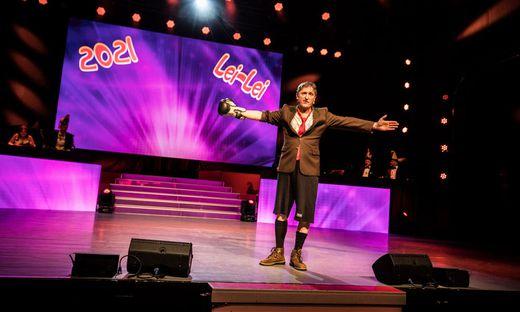 """Manfred Obernosterer steht auch 2021 als """"Noste"""" auf der Bühne"""