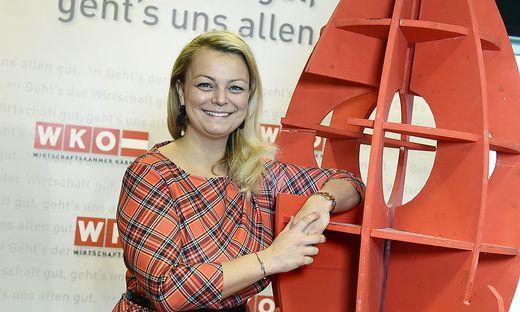 Die Vorsitzende der Jungen Wirtschaft (JW), Christiane Holzinger, will Betriebsübergeber und Gründer zusammenbringen