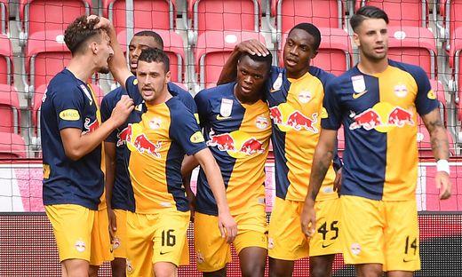FUSSBALL TESTSPIEL: FC RED BULL SALZBURG - FC LIVERPOOL