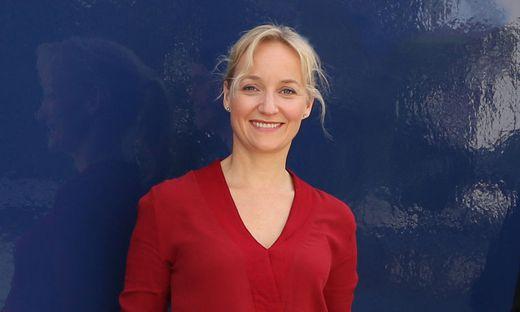 Eva Herzig bei Dreharbeiten zu zwei neuen ORF-Steiermark-Landkrimis
