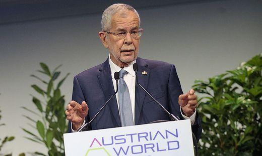 Bundespräsident Van der Bellen.