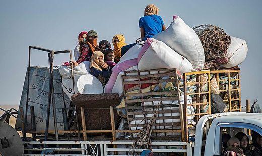 Türkische Offensive: Bereits mehr als 70.000 Menschen auf der Flucht