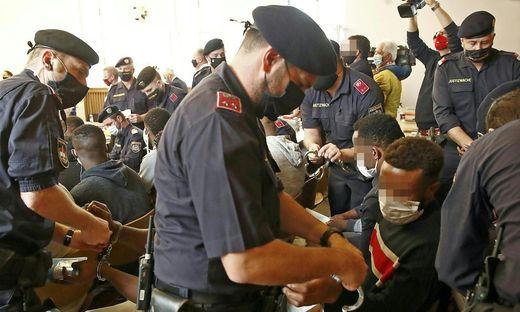 Eine mutmaßliche nigerianische Drogenbande steht in Klagenfurt vor Gericht (Archivfoto)