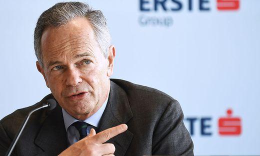 Für Erste-Chef Andreas Treichl war es die letzte Halbjahresbilanz für die Erste
