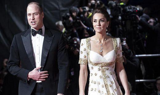 William und Kate lassen sich die Bond-Premiere nicht nehmen